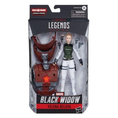"Marvel Legends: Black Widow ""Crimson Dynamo"" - Yelena Belova - Actionfigur - E8769 - 15 cm"