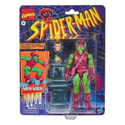 Marvel Legends: Retro Spider-Man Series - Green Goblin - E9321 - 15 cm