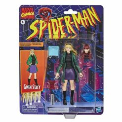 Marvel Legends: Retro Spider-Man Series - Gwen Stacy - E9322 - 15 cm