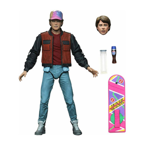 Back to the Future II: Marty McFly (Zurück in die Zukunft) - Ultimate Actionfigur - 18 cm