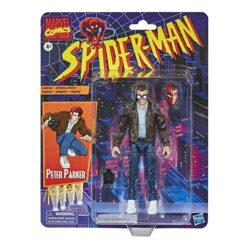 Marvel Legends: Retro Spider-Man Series - Peter Parker - E9319 - 15 cm