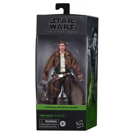 Star Wars: Black Series - Return of the Jedi - Han Solo (Endor) - E9364 - 15 cm