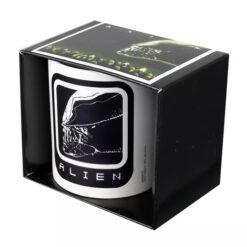 Alien: Tasse / Kaffeetasse weiss - Alien Icon