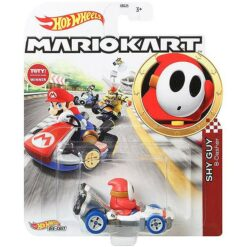"Hot Wheels: Nintendo Mario Kart ""Shy Guy"" Masstab 1:64 - Die-Cast - GJH61"