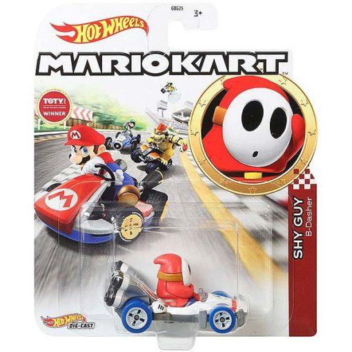 "Hot Wheels: Nintendo Mario Kart ""Shy Guy"" Masstab 1:64 - Die-Cast - GJH61"
