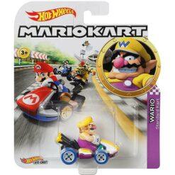 """Hot Wheels: Nintendo Mario Kart """"Wario"""" Masstab 1:64 - Die-Cast - GBG32"""