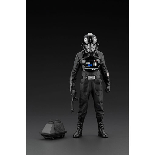 Kotobukiya: Star Wars A New Hope - ARTFX+ Statue 1/10 - TIE Fighter Pilot Backstabber & Mouse Droid - Exclusive - 18 cm