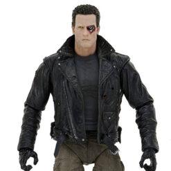 Terminator: Police Station Assault - T-800 (Motorcycle Jacket) - Ultimate Actionfigur - 18 cm