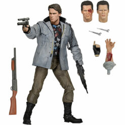 Terminator: T-800 (Tech Noir) - Ultimate Actionfigur - 18 cm