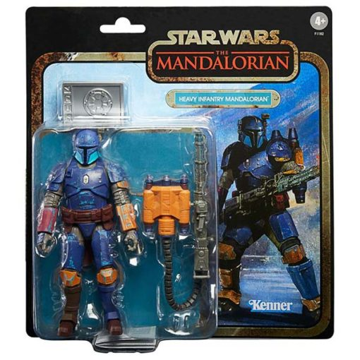 Star Wars: Black Series - The Mandalorian Credit Collection - Heavy Infantry Mandalorian - F1182 - 15 cm