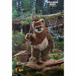Hot Toys: Star Wars (Episode VI) - Wicket - Movie Masterpiece - Actionfigur 1/6 - 15 cm