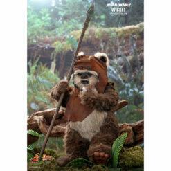Hot Toys: Star Wars (Episode VI) - Wicket - Movie Masterpiece - Actionfigur 1/6 - 15 cm