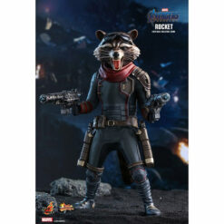 Hot Toys: Avengers - Endgame - Rocket - Movie Masterpiece - Actionfigur 1/6 - 16 cm