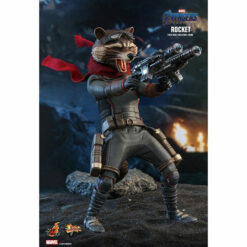 Hot Toys: Avengers - Endgame - Rocket - Movie Masterpiece - Actionfigur 1/6 - 16 cm
