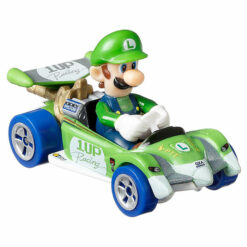 "Hot Wheels: Nintendo Mario Kart ""Luigi"" Masstab 1:64 - Die-Cast - GRN18"