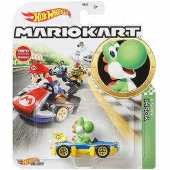 "Hot Wheels: Nintendo Mario Kart ""Yoshi"" Masstab 1:64 - Die-Cast - GLP39"