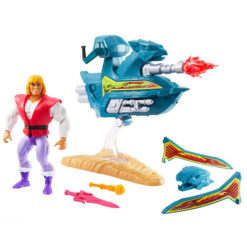 Masters of the Universe: Prince Adam & Sky Sled - Origins Actionfigur - 14 cm