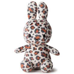 Miffy: Plüschfigur - Kaninchen Leopard Print - 23 cm