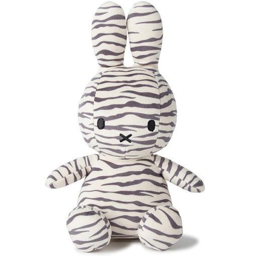Miffy: Plüschfigur - Kaninchen Zebra Print - 23 cm
