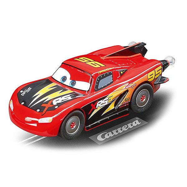 Carrera GO!!! Slotcar: Disney-Pixar Cars - Rocket Racer - Lightning McQueen