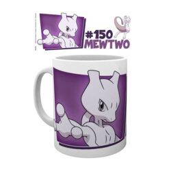 Pokémon: Tasse / Kaffeetasse weiss - Mewtwo