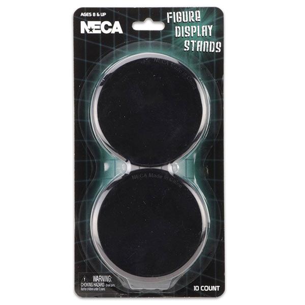 NECA: Standfüsse für NECA Actionfiguren - schwarz - 10 Stück