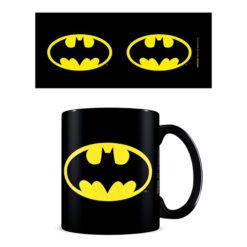Batman: Tasse / Kaffeetasse schwarz - Batman Symbol
