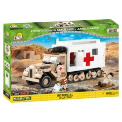 COBI: World War II - Ford V3000S Maultier Ambulance - 2518
