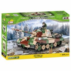 COBI: World War II - Panzerkampfwagen VI Ausf. B Tiger II (Sd.Kfz.182) - 2540