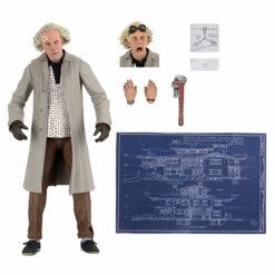 Back to the Future: Doc Brown (Zurück in die Zukunft) - Ultimate Actionfigur - 18 cm