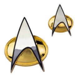 Star Trek: Next Generation - Replik 1/1 - Kommunikationsabzeichen - Ansteck-Pin & Ansteck-Button (magnetisch)