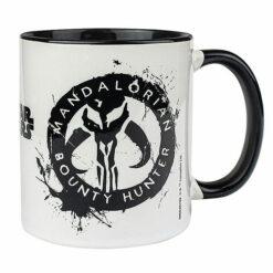 Star Wars: The Mandalorian - Tasse / Kaffeetasse weiss/schwarz - Bounty Hunter
