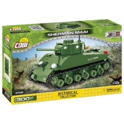 COBI: World War II - Panzer Sherman M4A1 - 2708