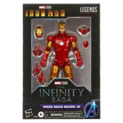 Marvel Legends: The Infinity Saga - Iron Man (Mark III) - Actionfigur - F0184 - 15 cm