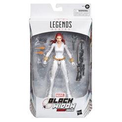 Marvel Legends: Black Widow - White Suit Deadly Origin - Actionfigur - E8712 - 15 cm