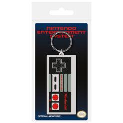 Nintendo: NES Controller - Gummi-Schlüsselanhänger